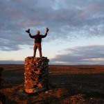 Torbjørn på grensen av Troms og Finnmark